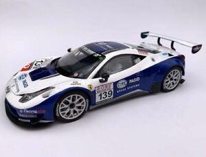Carrera 1:24 scale 23906 - Ferrari 458 Italia GT3 - slot car with working lights