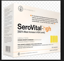 SeroVital-hgh 120 Capsules 30 Day Supply NEW FAST SHIP EXP 2019