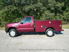 FORD 6.4 DIESEL 4X4 SRW UTILITY SERVICE BODY TRUCK JUST 39k MILES ONE OWNER NICE