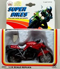 1993 Zee Toy 1:18 Super Bikes Kawasaki Ninja Motorcycle Red