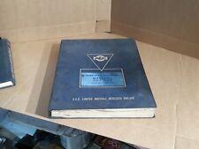 Aec Marshal Tilt Cad Parts Catalogue