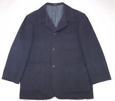 Perry Ellis Portfolio Coat 44R Gray Lambswool Angora Mens Size 4 Button Lined Sz