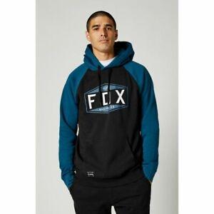 Fox Emblem Raglan Pullover Hoodie Dark Indigo - Fox 2021 Range