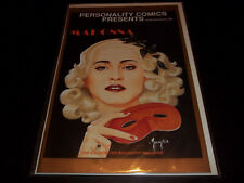 Personality Comics Presents Madonna 1A 1991 Stock Image Illustrated Biography