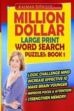 Million Dollar Large Print Word Search Puzzles: Book 1: By Toth M.A. M.PHIL.,...