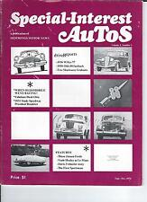 SPECIAL INTEREST AUTO -SIA  VOL 1, #1 The First Issue, Olds Racing, 36 Willys //