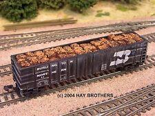 Hay Brothers BALED SCRAP METAL LOAD - Fits Athearn / MDC HI-SIDE Thrall Gondolas