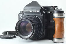 【Exc++++++】 Pentax 67 TTL Late Model + Takumar 105mm F2.4 6x7 From Japan #1976
