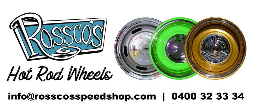 ROSSCOS SPEED SHOP & HOT ROD WHEELS