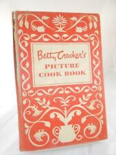 BETTY CROCKER'S PICTURE COOKBOOK Cook Book Vintage 1950 1st Ed. 7th Printing