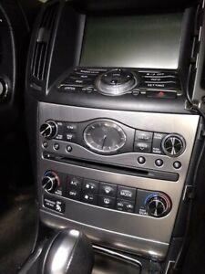 Black Aluminum Radio & A/C Knobs for Infiniti G37 G35 FX37 FX50 QX70 EX37 Q60