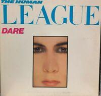 THE HUMAN LEAGUE LP Dare 1982 A&M SP-6-4892 GATEFOLD INNER