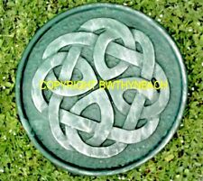 NEW LATEX MOULD MOULDS MOLD TO MAKE CELTIC STEPPING STONE WALL PLAQUE
