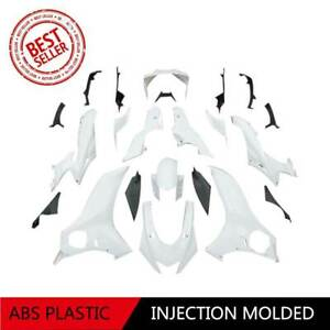 White ABS Unpainted Injection Fairing Bodywork Kit For Yamaha YZF-R6 2017-2019
