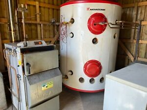 Wood Burning Boiler 40kw…Complete with Thermal Store