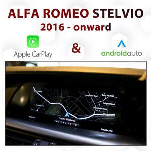 Alfa Romeo 949 Stelvio APIX iDrive - Apple CarPlay & Android Auto Integration