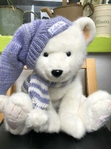 Russ Berrie Polar Bear Cuddly Toy 14 Inches Teddy Bear
