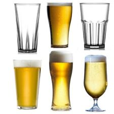 More details for plastic beer glasses pints - reusable - unbreakable - recyclable - fast delivery