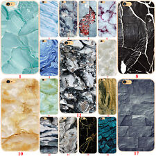 Custodie Marble Pattern Soft Back TPU Case Cover For iPhone 7 5c 5s SE 6s Plus