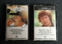 2 Vintage Cassette Tapes 70's Mac Davis •All The Love...Stop and Smell the Roses