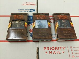 LOTR Lord of the Rings TCG - Expanded Middle Earth - Set of 3 Deluxe Draft Boxes