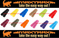 GENUINE MAXTRAX SAFETY RECOVERY TRACKS RAMPS 4WD 4X4 SAND MUD SNOW - OLIVE DRAB