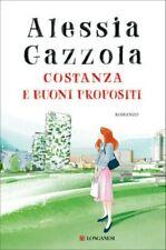 Costanza e Buoni Propositi Libro Romanzo di Alessia Gazzola Narrativa Italiana