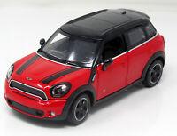 Modell 1:24 Mini Cooper S Countryman (R60), rot - schwarz   Rastar 56400