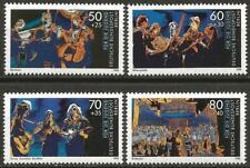 Germany Berlin 1988 MNH - Your Welfare Music Wind Quintet Guitar Mandolin Choir