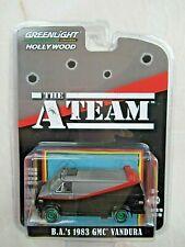 Greenlight 1:64 Hollywood A-Team B.A.'S 1983 Gmc Vandura Green Machine / Chase