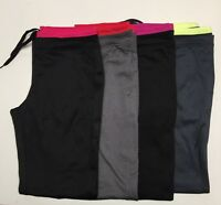 Danskin Now Women's Active Wear Athletic Micro Fleece Performance Pants NWT.