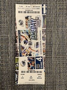 Vintage San Diego Chargers Ticket MNF  9/22/08 vs New York Jets (Brett Favre)