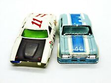 Aurora AFX Charger & Escort Bodies only For Parts or Restoration