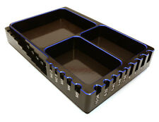 Integy C27181BLUE Universal Workbench Organizer 120x80x20mm Workstation Tray