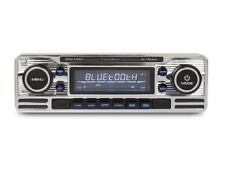 RMD120BT Classic Retro Mechless BLUETOOTH USB AUX Car Stereo Radio Player CHROME