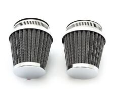 Chrome Air Filter Pod - 54mm - Set of 2 - Honda CB/CM400/450 CX/GL500/650