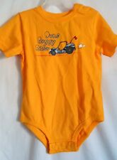 BOYS 24 MONTHS 2T YELLOW DUNE BUGGY RIDER CREEPER S/S SHIRT NWT ~ CIRCO