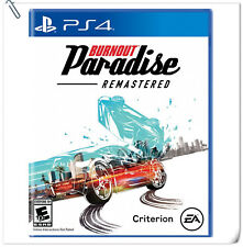 PS4 Burnout Paradise Remastered Sony PlayStation Electronic Arts Racing Games EA