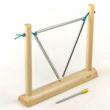 "Koda Triangle on Wooden Stand with Beater, 8"" (20cm)"