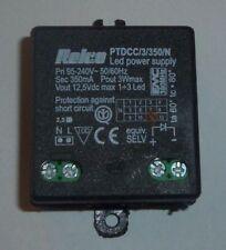 Relco PTDCC/3/350/N LED Trafo Vorschaltgerät 12V 3 Watt 0,35A Eing: 95 - 240V