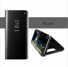 NEW For Samsung Galaxy Note 3/ 4/ 5/ 8/ Smart Clear View Mirror Flip Stand Case