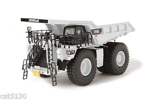 "Caterpillar 789D Dump Truck - ""WHITE"" - 1/87 - Brass - CCM - 100 Made"