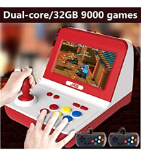 Big Rocker Retro Mini Arcade Console Dual-core 32GB Built in 9000 Games mp3 mp4