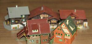 Spur Z - fünf  Einfamilienhäuser/ Gebäude auch mit Laden