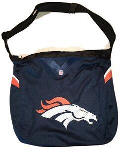 NFL Denver Broncos Team Jersey Tote Shoulder Bag