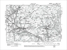 old map Cheshire 1911: 19NE S Stockport Hazel Grove