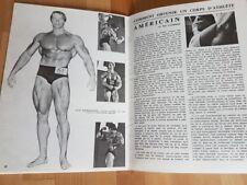 French bodybuilding muscle magazine. Schwarzenegger/Zane