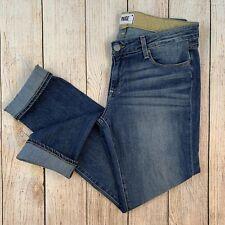 Paige Premium Denim Jimmy Jimmy Skinny Boyfriend Jeans Medium Tigerlily Wash 28