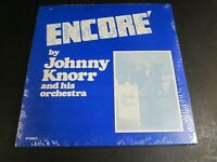 NEW SEALED Vinyl Record Album   Encore  Johnny Knorr Orchestra  Big Band Toledo