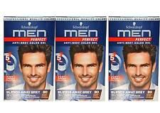 Schwarzbraune Haar-Färbemittel mit Gel-Formulierung für Herren